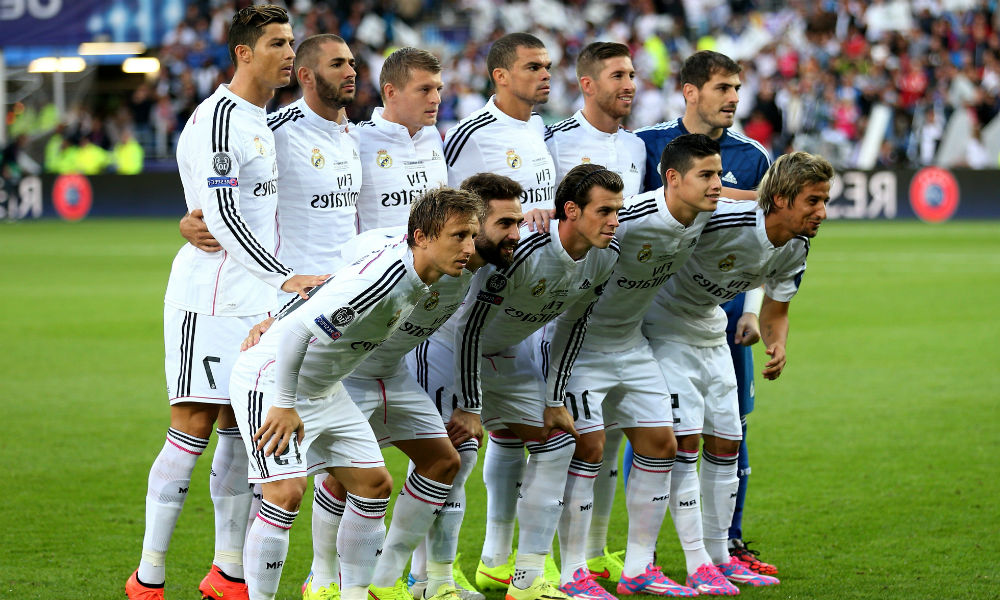 squad real madrid